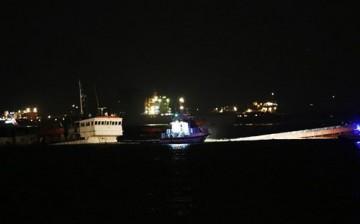 Zeytinburnu Açıklarında Batan Gemi'de Sızıntı