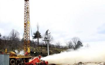 100 Metre Derinlikte Jeotermal Su Bulundu