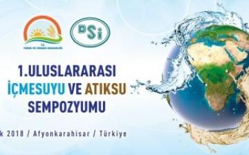 1. Uluslararası İçme Suyu ve Atıksu Sempozyumu Aralık'ta Düzenlenecek