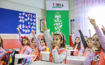 IKEA Poşetlerinin Geliri TEMA Vakfı ve MEB İş Birliğiyle Çocuklara Doğa Eğitimi Oldu