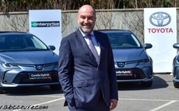 Enterprise Türkiye Filosuna 1.000 Hibrit Toyota Daha Kattı