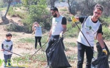 Gönüllülerden Çevre Temizliği
