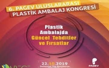 6. PAGEV Uluslararası Plastik Ambalaj Kongresi 22 Ekim'de