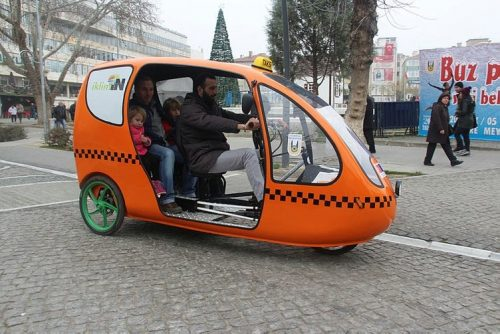 Bisikletli Taksi